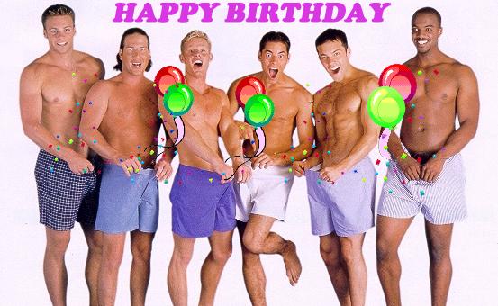 Happy Birthday Gay Guy